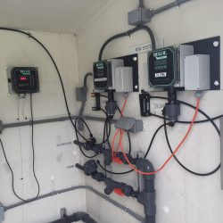 MIC chemical feed and control system - after