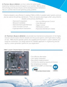 Thornton, Musso, & Bellemin Chlorine Dioxide Technology Services & Products (Water Treatment)
