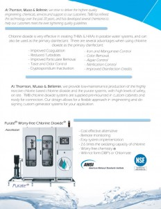 Thornton, Musso, & Bellemin Purate Services & Products (Water Treatment)